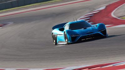 2019 Nio EP9 - Deviendra la voiture électrique la plus rapide sur le marché