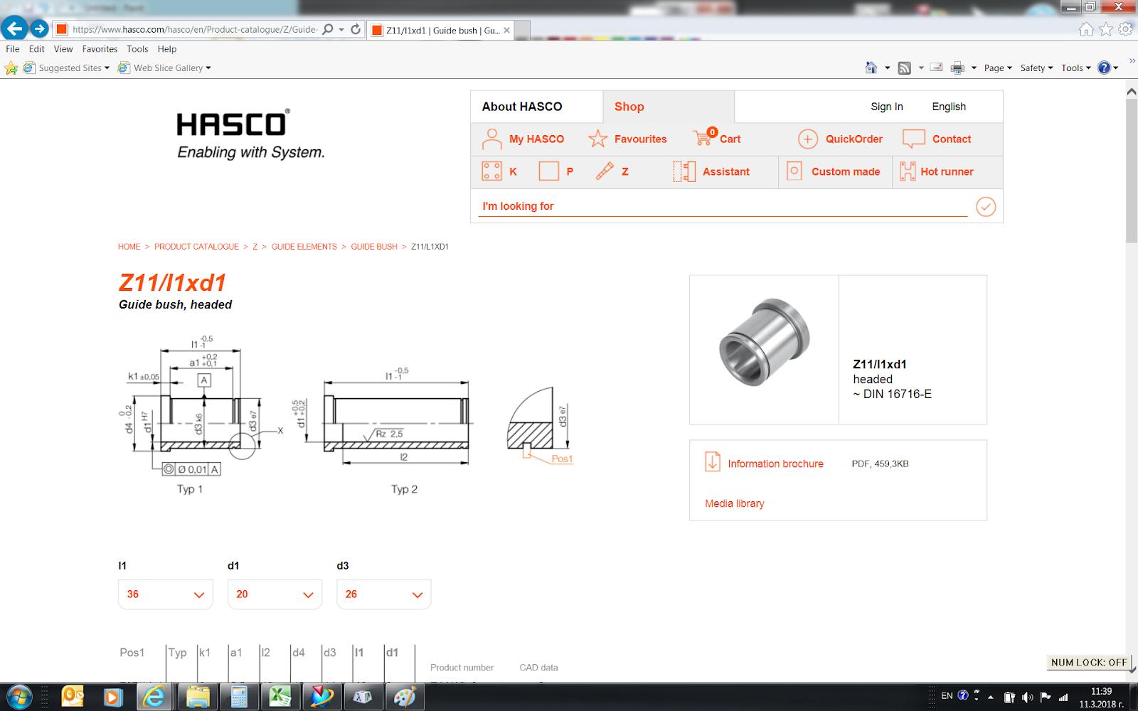 An interesting detail in a HASCO standard part - Un detalle
