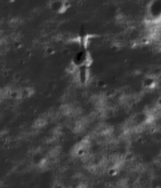 Discovery of SMART-1 impact site on high resolution Lunar Reconnaissance Orbiter images. Photo Credit: P Stooke/B Foing et al 2017/ NASA/GSFC/Arizona State University