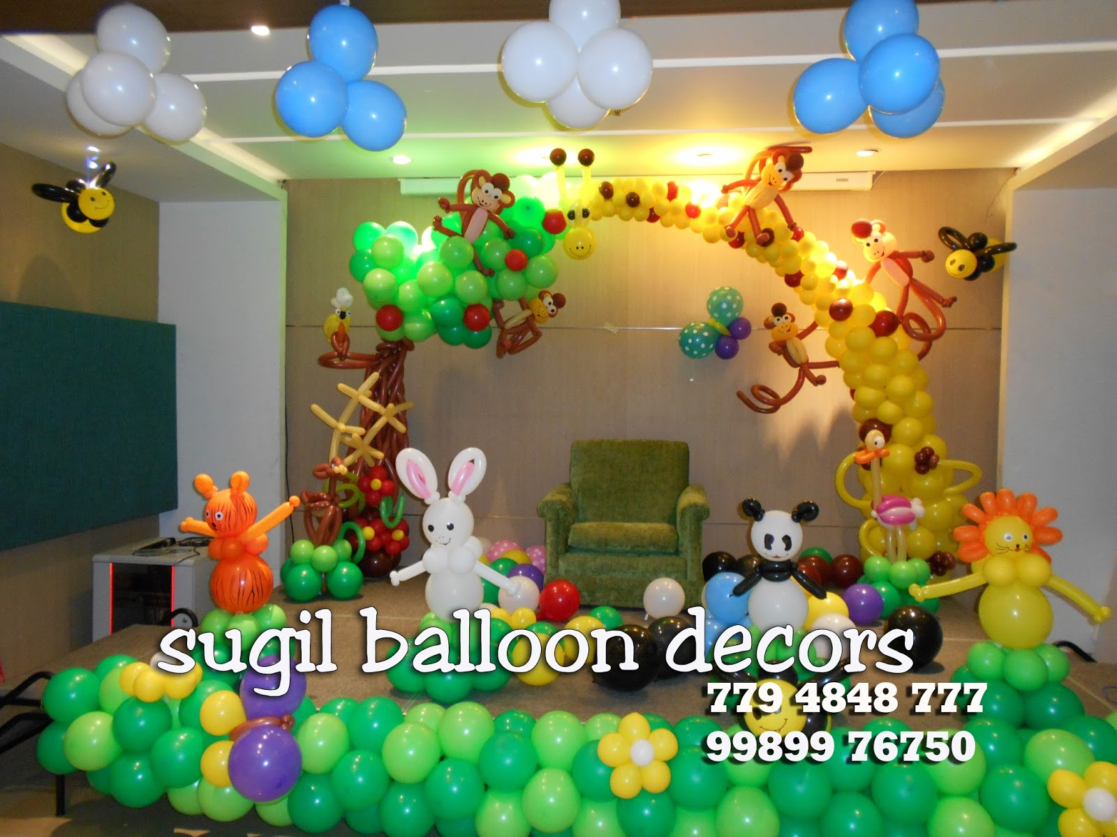 sugil balloon decorations in rajahmundry