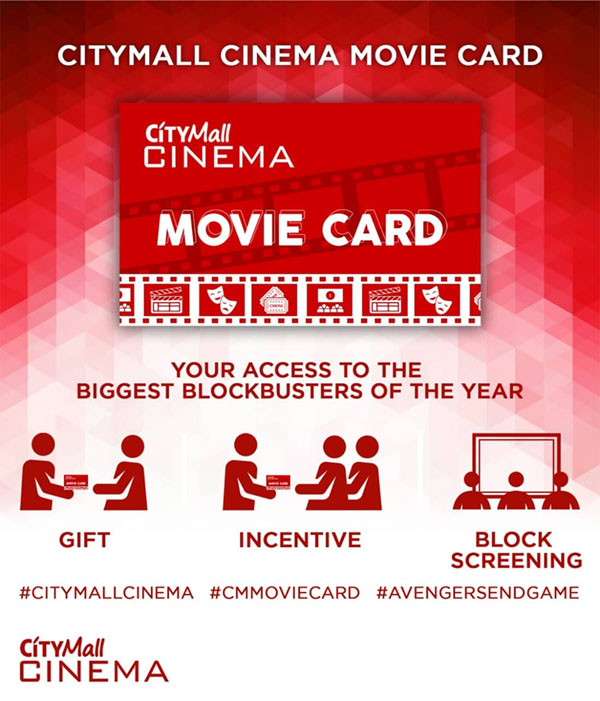 CityMall Premier Cinema - CityMall Cinema Movie Card - family - Avengers: Endgame - Bacolod bloggers - family bloggers