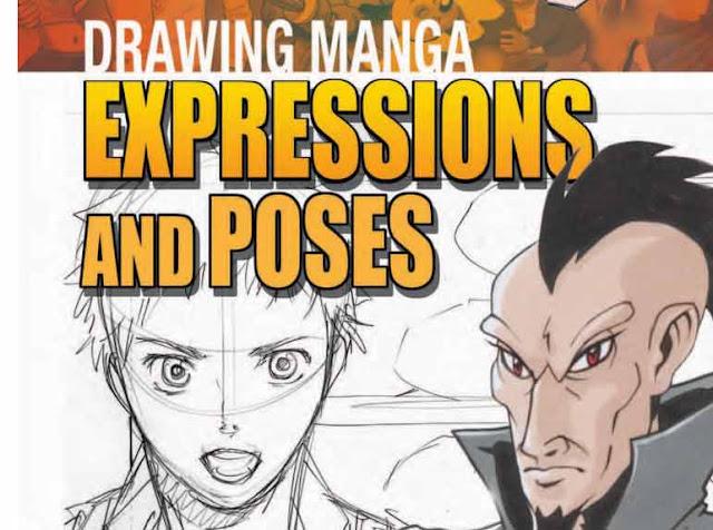 descarga dibujar expresiones y poses manga