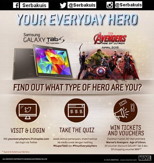Kuis Berhadiah 80 Tiket Pre-screening Avengers: Age of Ultron