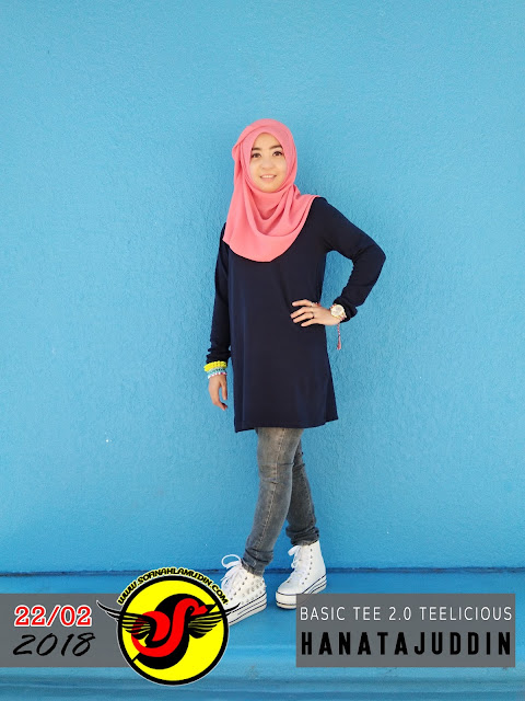 Basic Tee 2.0 TeeLicious HanaTajuddin, Tshirt Labuh Untuk Riadah, Tshirt Muslimah Untuk Riadah, Tshirt Menutup Pinggul, Tshirt Tak Perlu Iron, Tshirt Sukan Menutup Pinggul, Tshirt Sukan Labuh, Tshirt Labuh, Tshirt Muslimah Untuk Riadah Dan Sukan, Tshirt Labuh Untuk Riadah Dan Sukan