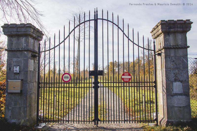 entrada do castelo de miranda