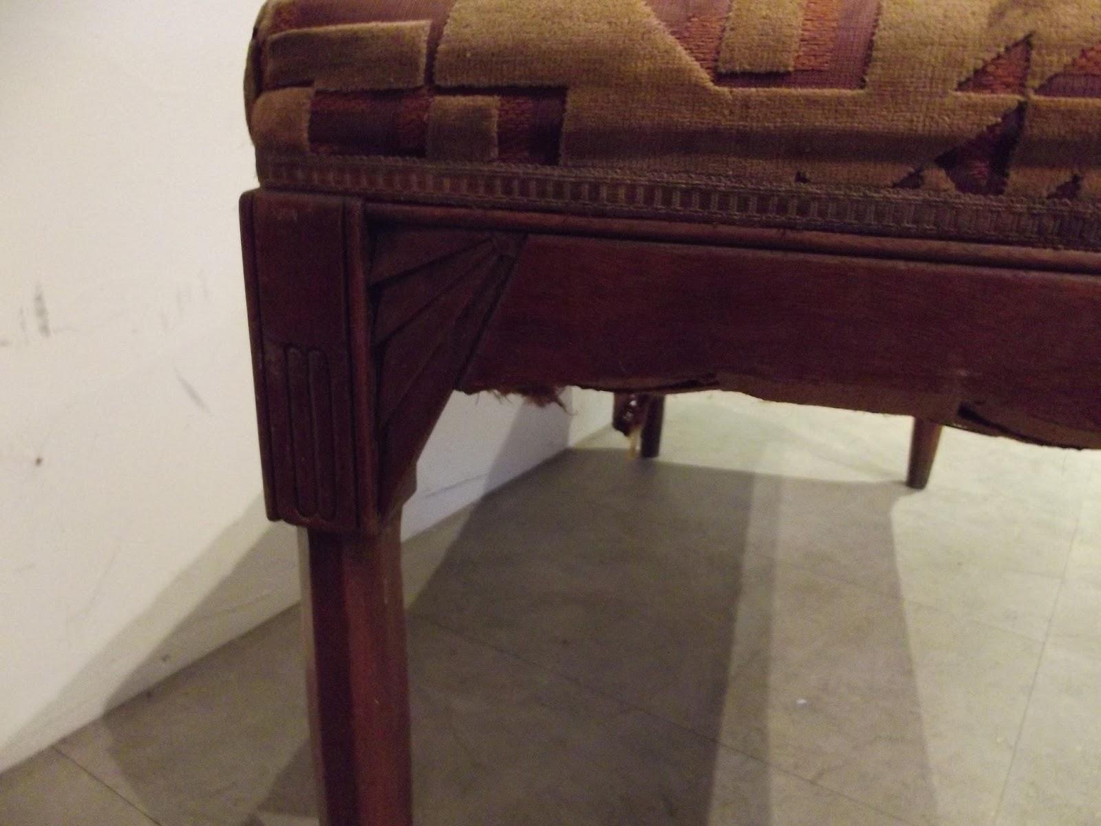 Wwwdidoulabrocantefr Authentique Ancien Banc Banquette De Piano