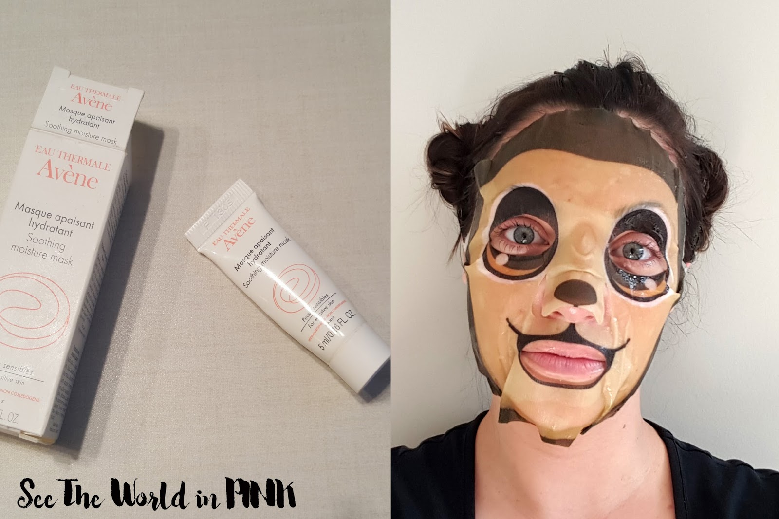 avene eau thermale soothing moisture mask thefaceshop character mask monkey