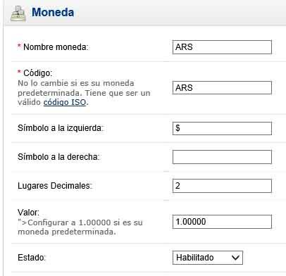 Opencart Argentina