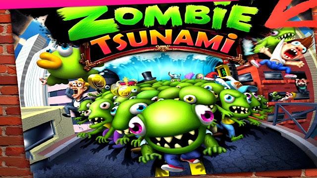 تحميل لعبة زومبي تسونامي download Zombie Tsunami للكمبيوتر والموبايل للاندرويد والايفون برابط مباشر