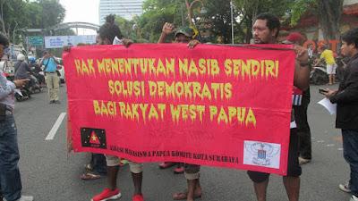 """AMP KK Surabaya Menggelar Aksi Demo Damai """"Cabut Resolusi PBB 2504"""""""