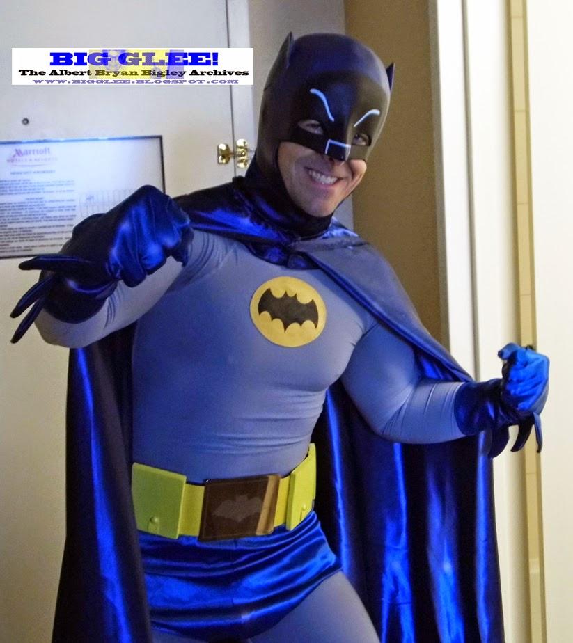 1966 Batman  Returns! To the 2014 NC Comicon! Special Guest Stars Neal Adams! Zatanna!  TVu0027s Frank?!  & Big Glee! The Albert Bryan Bigley Archives!