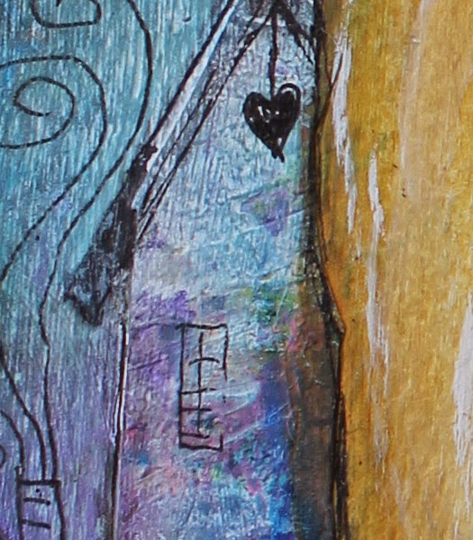 A Little Bird Told Me by Tori Beveridge Close up 2