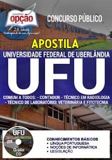 Apostila UFU 2017 Diversos Cargos