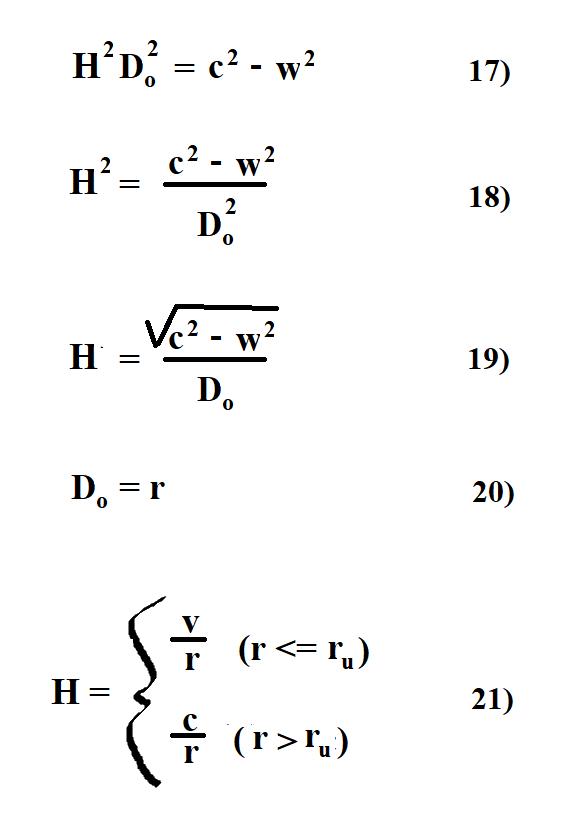 GM Jackson Physics and Mathematics: Relativizing Hubble's