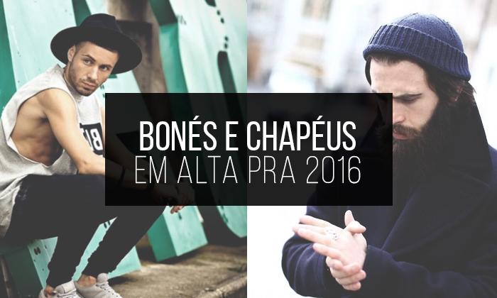 Macho Moda - Blog de Moda Masculina  Bonés e Chapéus Masculinos acd217c77d6
