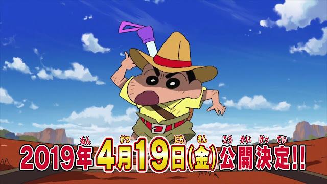 Film Terbaru Dari Anime Crayon Shin-chan Akan Rilis!