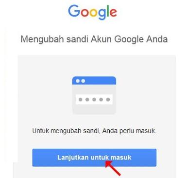 Cara Mengganti-Mengubah Password-Kata Kunci Login Email Gmail-Akun Google yang Tidak Lupa