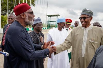 Governor Rotimi Akeredolu predicts Buhari's re-election in 2019