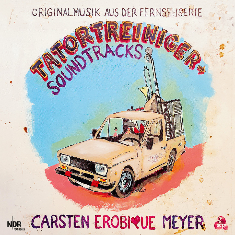 Carsten Erobique Meyer - Tatortreiniger Soundtracks | Mein Vinyltipp inkl. Trailer
