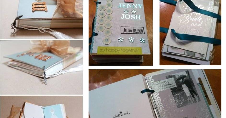 jenny's journal pinterestinspired wedding cards book