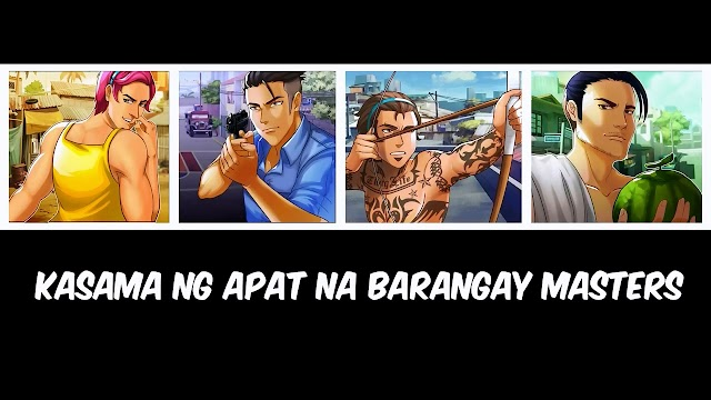 Barangay and the characters are not basketball superstars but normal everyday individuals