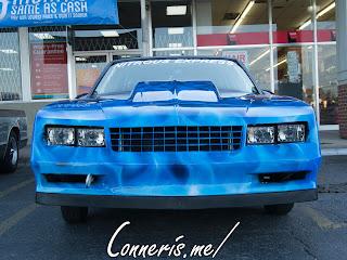 Chevrolet Monte Carlo Drag Car Front