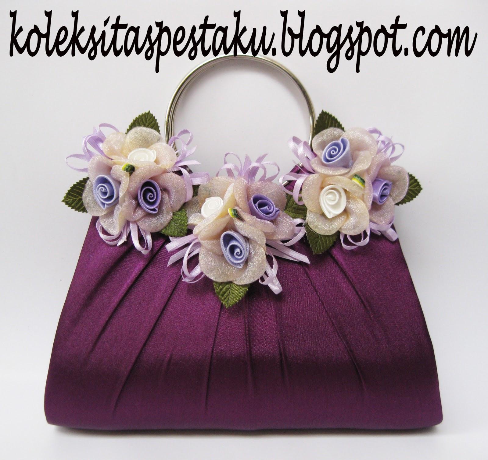 Clutch Bag-Tas Pesta Ready Terbaru Warna Purple dengan Bunga Cantik Hanya  ada di OnlineShop TasPestaKu (SOLD OUT) 17333d68e2