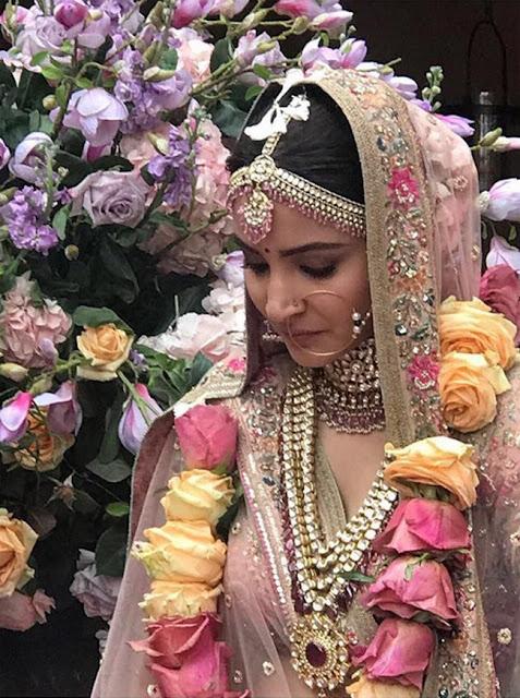 Anushka Sharma and Virat Kohli Wedding Photography