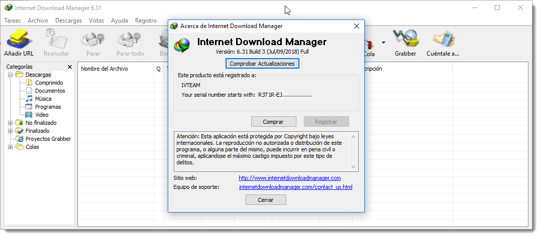 crack internet  manager v6.31