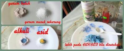 beza garam buluh dan garam putih