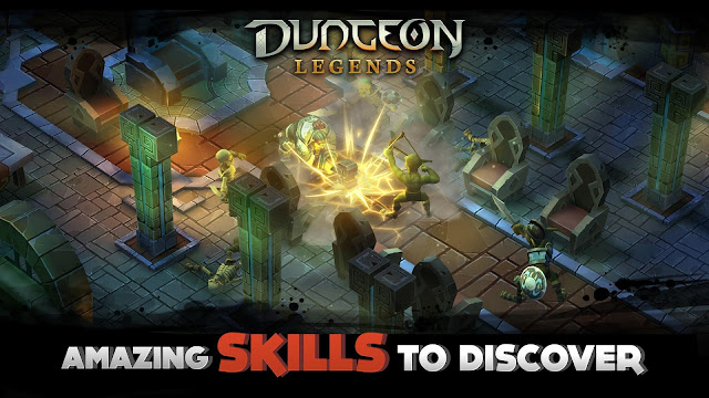 Dungeon Legends APK MOD Money, Damage, HP, Mana, Skill,Fast Level Up