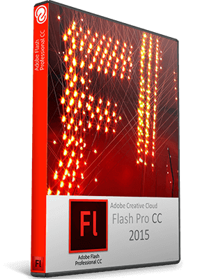 Adobe Flash Professional CC 2015 box