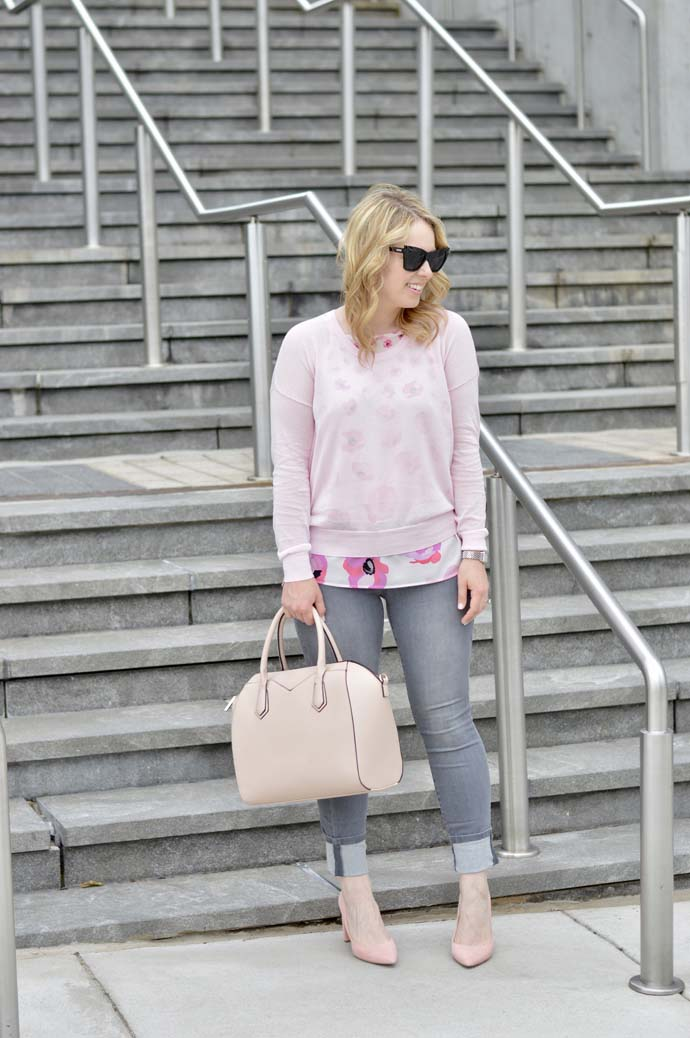 Blush Pink Outfit Idea