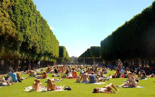parijse parken, parcs de paris, maria de medici,