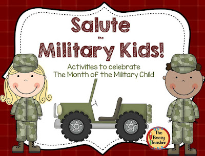 https://www.teacherspayteachers.com/Product/Salute-the-Military-Kids-629993