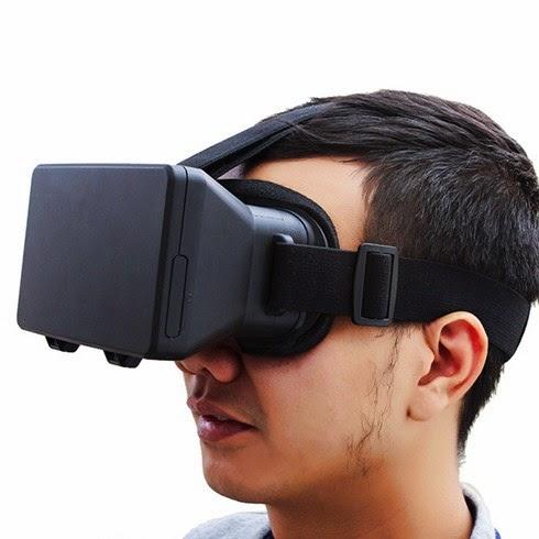 Kính thực tế ảo xem phim 3D cho điện thoại