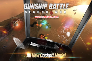GUNSHIP BATTLE: SECOND WAR v1.01.08 + Mod Apk Unlimited Money Terbaru