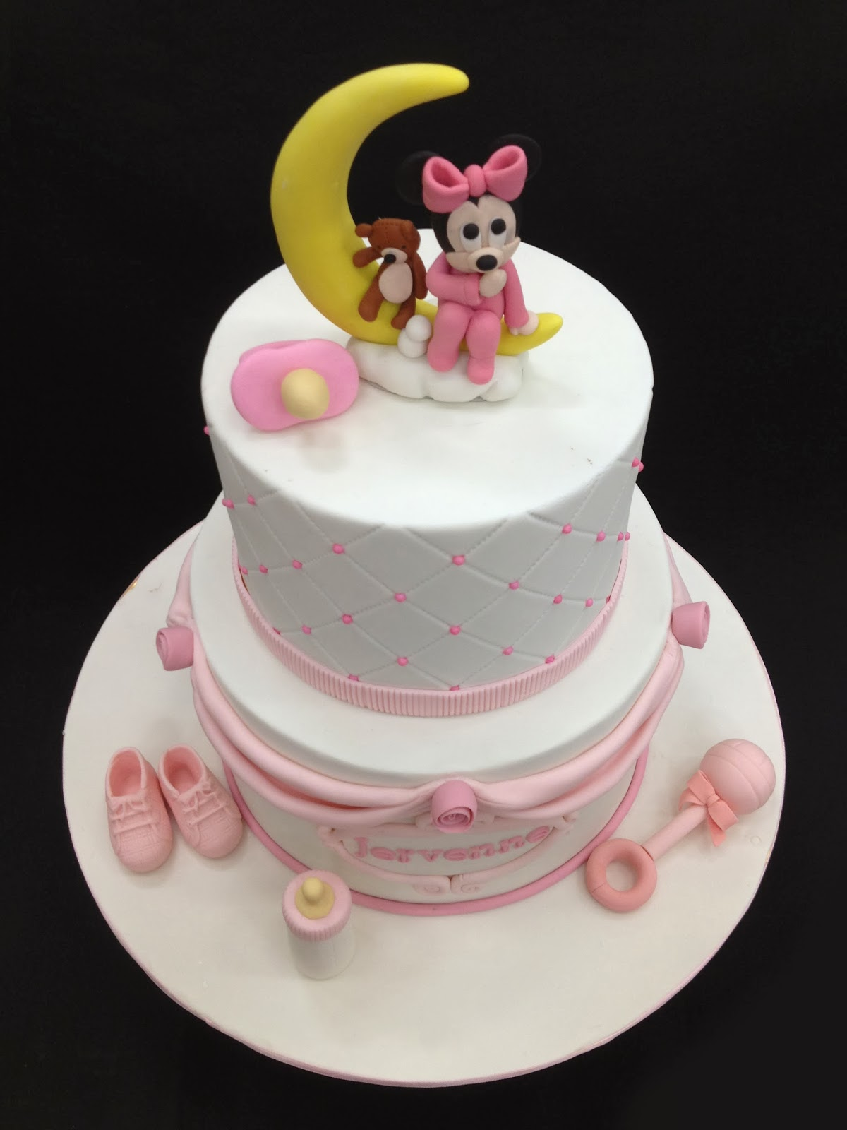 babycakes wedding cakes penang wedding cakes by leesin baby minnie baby cake 10999