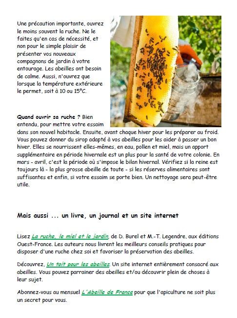 breuillet nature installez une ruche dans votre jardin. Black Bedroom Furniture Sets. Home Design Ideas