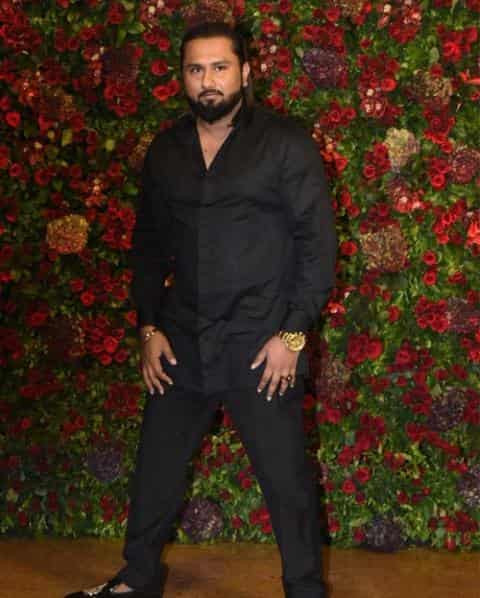 Yo Yo Honey Singh Deepika-Ranveer reception | Deepika-Ranveer reception Yo Yo Honey Singh