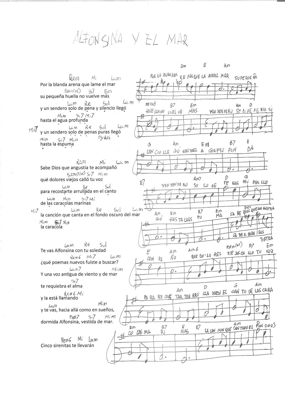 Todo música: Alfonsina y el mar