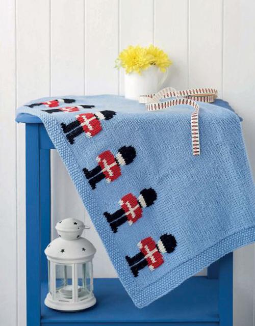 Little Soldier Blanket - Free Pattern
