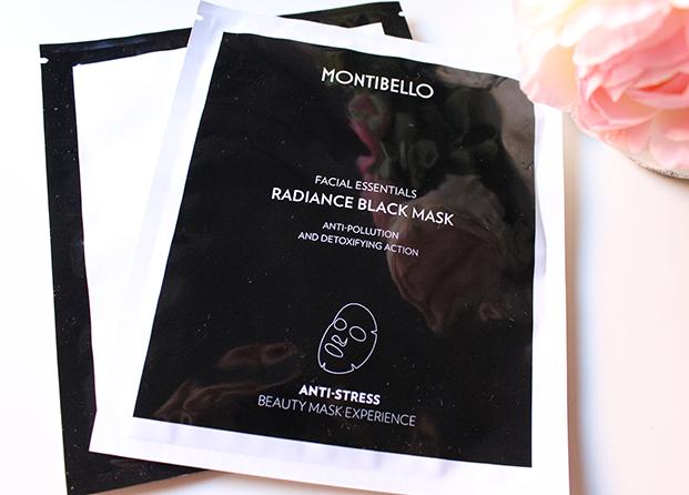 Radiance Black Mask de Montibello - Detoxifica