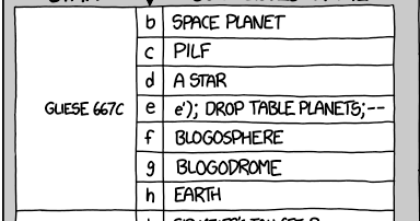 DailyMud: XKCD: suggested exoplanet names