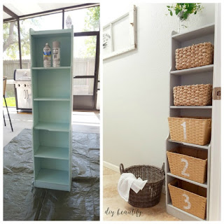 upcycle furniture as storage