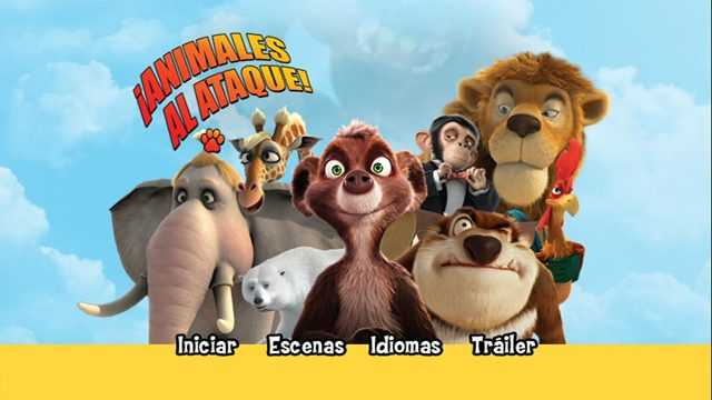Animales al Ataque DVD Full Latino