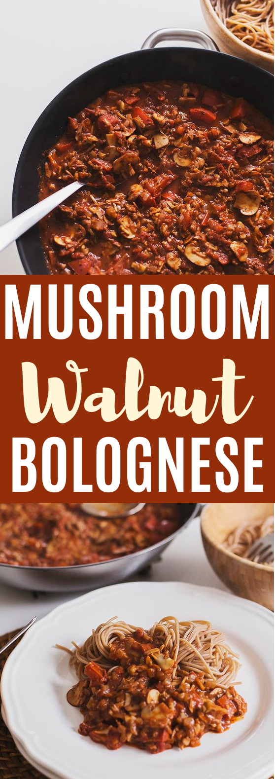 Mushroom & Walnut Spicy #vegan #italianfood