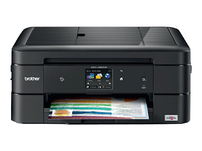 This Work Smart Series Inkjet is an affordable printing solution for domicile Brother MFC-J880DW Driver Windows ten Downloads