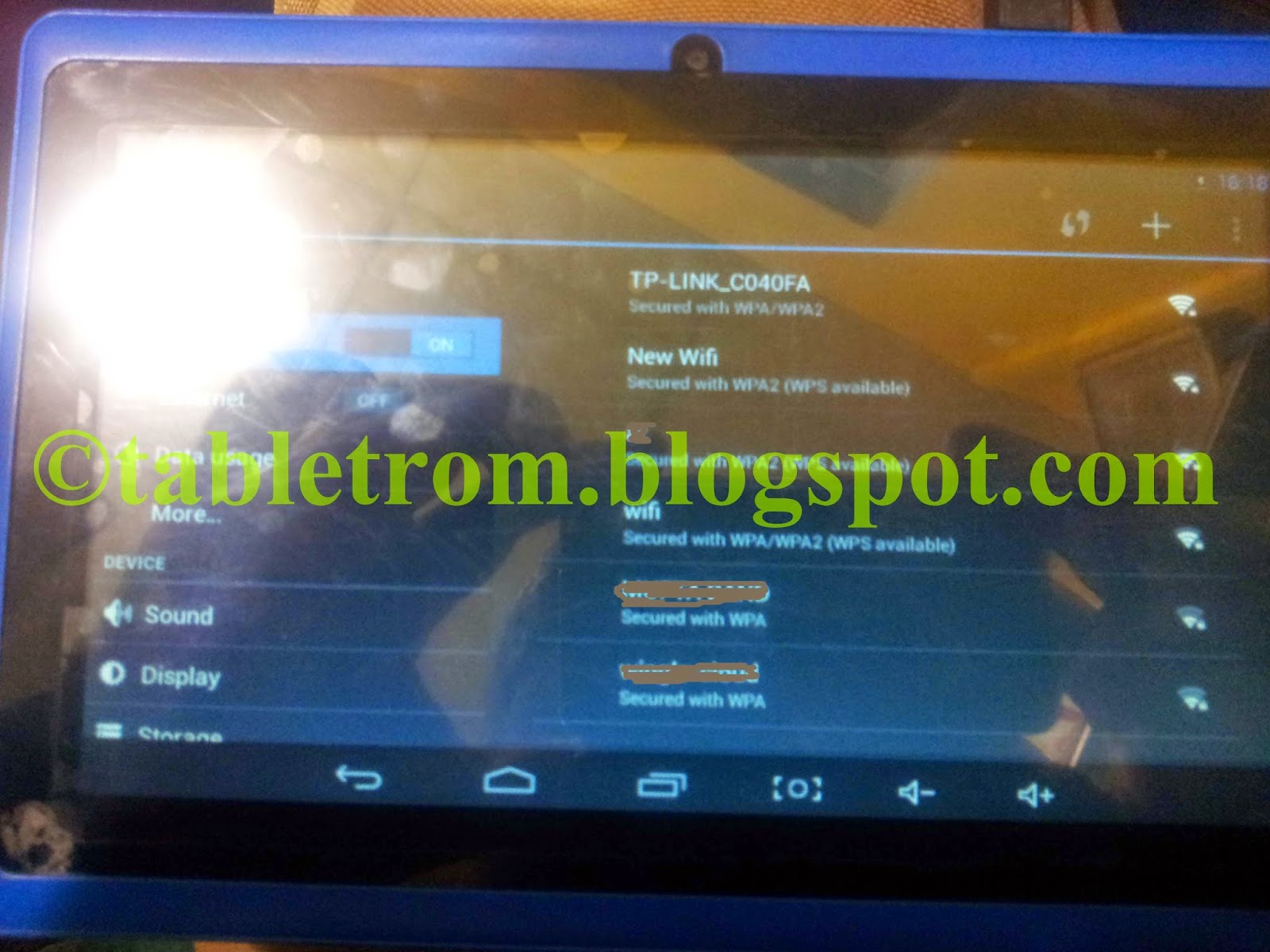 ATM7021A Tablet firmware