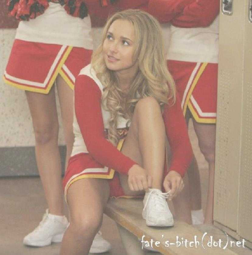 Famous Holiday Hayden Panettiere Upskirt Red Penty In -9578